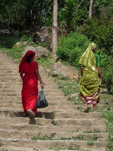 Le sari est toujours la!