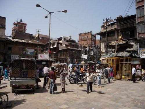 Rues de Kathmandu