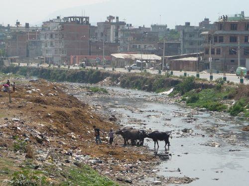 Rivieres de Kathmandu